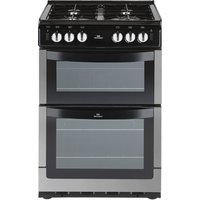 NEW WORLD 551GTC Gas Cooker - Stainless Steel, Stainless Steel