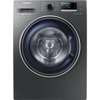 SAMSUNG ecobubble WW90J5456FX 9 kg 1400 Spin Washing Machine - Graphite, Graphite