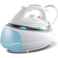 MORPHY RICHARDS Jet Steam 333021 Steam Generator Iron - White & Blue, White