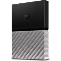 Wd My Passport Ultra Portable Hard Drive - 2 Tb, Black & Grey, Black