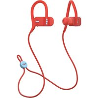JAM Live Fast HX-EP404RD Wireless Bluetooth Headphones - Red, Red