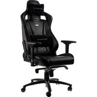 NOBLE CHAIRS Epic Gaming Chair - Black and Blue, Black