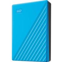 My Passport Portable Hard Drive - 4 TB, Blue, Blue