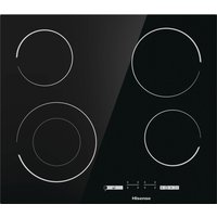 E6432C Electric Ceramic Hob - Black, Black