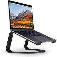 TWELVE SOUTH Curve Laptop Stand - Matt Black, Black