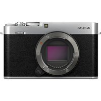 SONY X-E4 Mirrorless Camera - Silver, Body Only, Silver