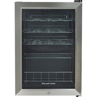 RUSSELL HOBBS RHGWC4SS-LCK Wine Cooler - Stainless Steel, Stainless Steel