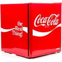 HUSKY Coca Cola HUS-EL207 Mini Fridge - Red, Red