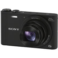 Sony Cyber-shot Dsc-wx350b Superzoom Compact Camera - Black, Black at Currys Electrical Store