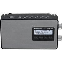 PANASONIC RF-D10EB-K Portable DAB Radio - Black, Black
