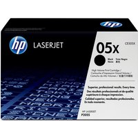 HP 05X Black Toner Cartridge, Black