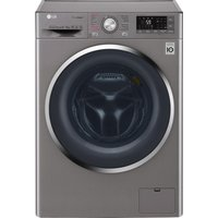 LG Washer Dryer J 8 Series F4J8FH2S Smart 9 kg  - Shiny Steel