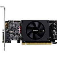 Gigabyte GeForce GT 710 2 GB Graphics Card, Gold