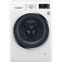 LG FH4U2JCN2 Smart 10 kg 1400 Spin Washing Machine - White, White