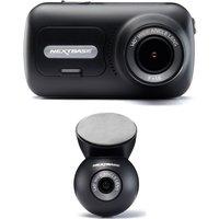Nextbase 322GW Full HD Dash Cam & NBDVRS2RWC Quad HD Rear View Dash Cam Bundle