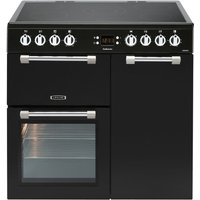 LEISURE Cookmaster CK90C230K Electric Ceramic Range Cooker - Black, Black