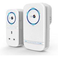BT Home Hotspot 1000 Wireless Powerline Adapter Kit - Twin Pack