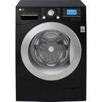 LG FH495BDN8 Smart Washing Machine - Black, Black