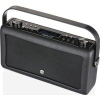 VQ Hepburn Mk II Portable DAB Bluetooth Clock Radio - Black, Black