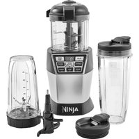 NINJA Nutri Bowl Duo NN100UK Food Processor - Silver, Silver
