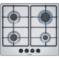 Click to view product details and reviews for Bosch Serie 4 Pgp6b5b60 Gas Hob Stainless Steel Stainless Steel.