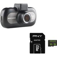 Nextbase Incarcam 412gw Dash Cam & 32 Gb Microsd Memory Card Bundle
