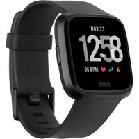 Fitbit Versa Classic Band - Black, Large, Black