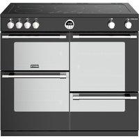 STOVES Sterling S1000Ei BK 100 cm Electric Induction Range Cooker - Black, Black