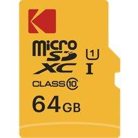KODAK Extra Class 10 microSDXC Memory Card - 64 GB