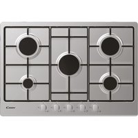 CANDY CHW7X Gas Hob - Stainless Steel, Stainless Steel