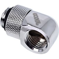 Icicle 90 Degree Angled Rotary Fitting   Chrome