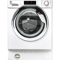 HOOVER H-Wash 300 HBWOS 69TAMCET Integrated WiFi-enabled 9 kg 1600 Spin Washing Machine – White, White.
