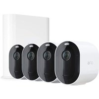 ARLO Pro 3 2K WiFi Security Camera System - 4 Cameras, White, White at Currys Electrical Store