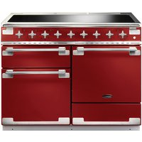 RANGEMASTER Elise 110 Electric Induction Range Cooker - Cherry Red and Chrome, Red