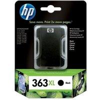 HP 363XL Black Ink Cartridge, Black