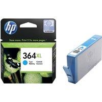 HP 364XL Cyan Ink Cartridge, Cyan