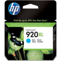 HP 920XL Cyan Ink Cartridge, Cyan