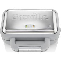Buy BREVILLE VST072 Waffle Maker - Grey & Stainless Steel, Stainless Steel - Currys
