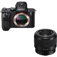 SONY a7 II Mirrorless Camera & FE 50 mm f/1.8 Standard Prime Lens Bundle.