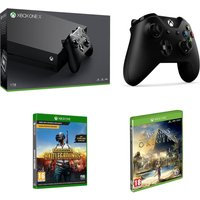 MICROSOFT Xbox One X, Game & Accessory Bundle