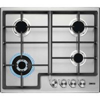 ZANUSSI ZGH66424XX Gas Hob - Stainless Steel, Stainless Steel