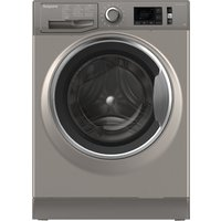 Hotpoint Active Care Nm11 845 Gc A UK 8 Kg 1400 Spin Washing Machine - Graphite, Graphite