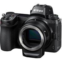 Nikon Z 6 Mirrorless Camera With Ftz Mount Adapter