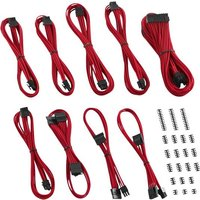 CABLEMOD Classic ModMesh C-Series Corsair AXi HXi RM Cable Kit - Red, Red