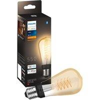 Philips Hue Filament Bluetooth LED Bulb - ST64, E27, White