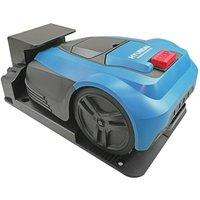 HYUNDAI HYRM1000 Cordless Robot Lawn Mower - Blue & Black, Blue.