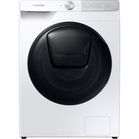 SAMSUNG QuickDrive WW80T854DBH/S1 WiFi-enabled 8 kg 1400 Spin Washing Machine - White, White.