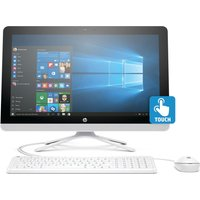 HP 22-b065na 21.5 Touchscreen All-in-One PC - White, White