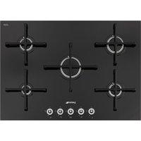 SMEG Linea PV175CN Gas Hob - Black, Black