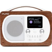 Click to view product details and reviews for Pure Evoke H4 Portable Dab Fm Bluetooth Clock Radio Walnut.
